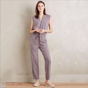 Anthropologie Cloth & Stone Mignon Jumpsuit L